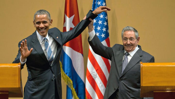 In this March 21, 2016 file photo, Cuban President