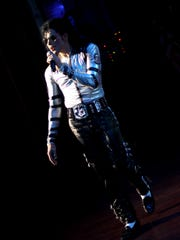 Michael Knight, a Michael Jackson tribute artist, moved to Salem from Rhode Island about two years ago.