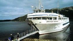 Grande Mariner  plies the Great Lakes.