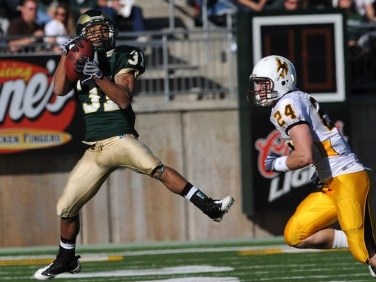 CSU receiver/returner Dion Morton is one of the best to wear No. 31 in school history.
