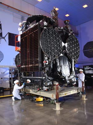 The GovSat-1 communications satellite, built by Orbital ATK, is the result of a public-private partnership between the government of Luxembourg and SES. The satellite is targeting a 4:25 p.m. Tuesday, Jan. 30, launch from Cape Canaveral Air Force Station aboard a previously flown SpaceX Falcon 9 rocket.