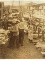 Young boys working for Hickock Lumber Co., in Burlington. Photojournalist Lewis W. Hine documented children as young as 7 or 8 years at mills and factories in Burlington and Winooski in 1910 during his work for the National Child Labor Committee. Children's wages were often important to household income, and despite attempts at educational reform, as late as 1886 only about 60 percent of Vermont children attended school. The Vermont Federation of Women's Clubs became politically active in 1903, seeking protection for children in the workplace.