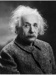 Albert Einstein signed a declaration of intention in