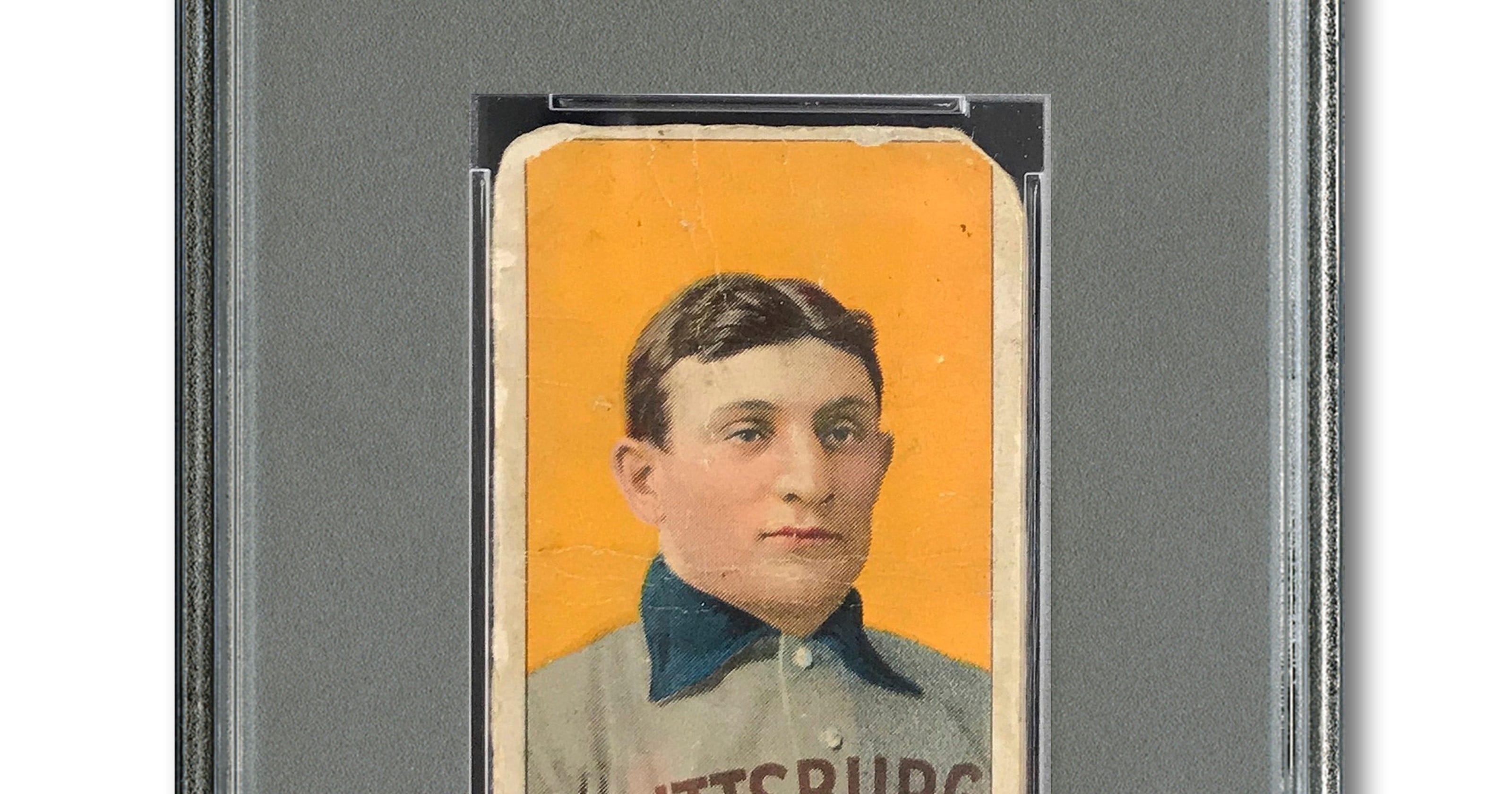 Honus Wagner Baseball Card Sells Privately For 12 Million