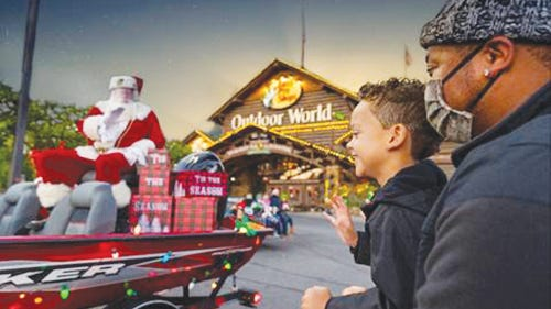 Contactless visits with Santa will start on Nov. 8 and advance reservations can be made online now.   PROVIDED