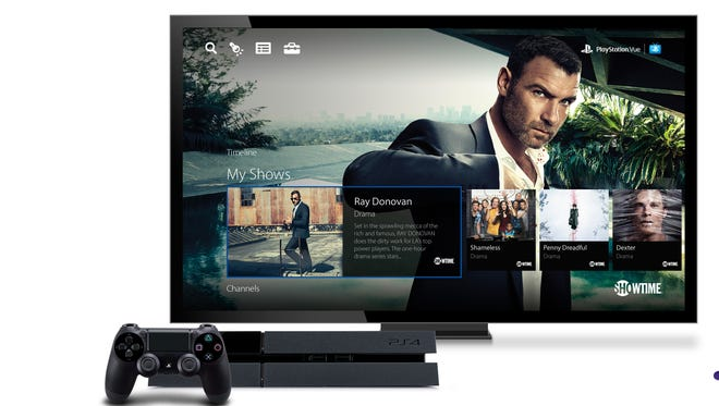 Showtime's standalone video service is coming to Sony's PlayStation Vue TV service.