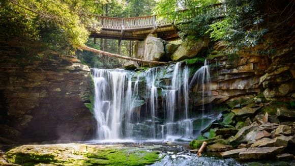 Blackwater Falls State Park. (Photo: Getty Images)
