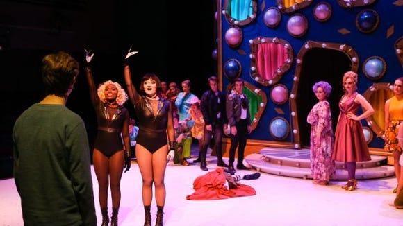 "A production of ""Pippin"" at TCU. (Photo: TCU)"