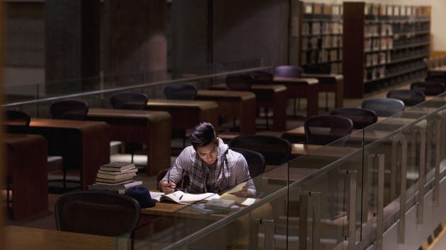 If you're not a morning person, studying at night is the right thing for you.