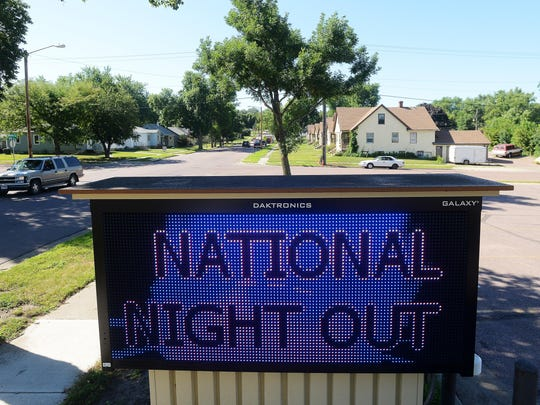St. John American Lutheran Church at 13th Street and Western Avenue is hosting a neighborhood gathering as part of National Nigh Out on Tuesday.
