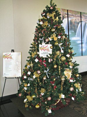 CoxHealth Foundation's Knot Forgotten Christmas trees will be on display with donated ribbons on various CoxHealth campuses.