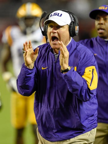 LSU coach Les Miles said Friday he expects Saturday's