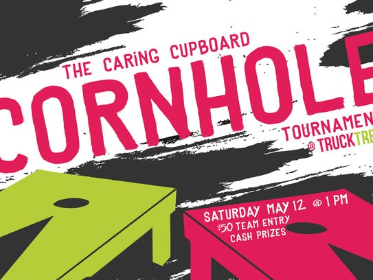 New for 2018 is The Caring Cupboard Cornhole Tournament,