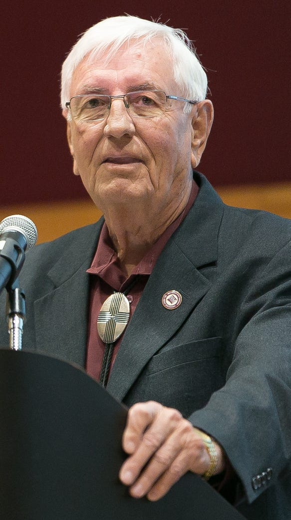 NMSU President Garrey Carruthers hosts a town hall