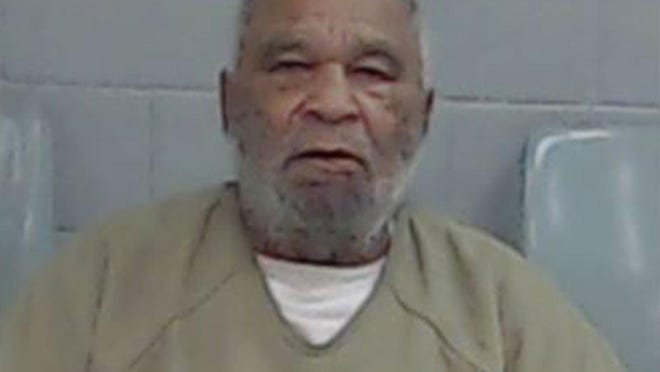 FILE - This undated file photo provided by the Ector County Texas Sheriff's Office shows Samuel Little. The FBI says 78-year-old Little, who has confessed to some 90 killings nationwide spanning nearly four decades, offered his confessions as a bargaining chip to be moved from a California prison. Authorities say Little is in poor health and will likely stay in jail in Texas until his death. (Ector County Texas Sheriff's Office via AP)