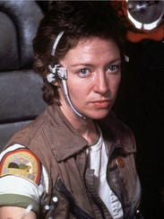 Veronica Cartwright as navigation officer Lambert in