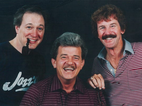 The Topics were made up of, from left, Michael Henry Martin, Al Rodgers and Bob Wimberly.