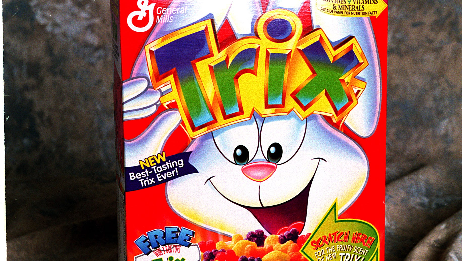 Trix cereal returns to artificial