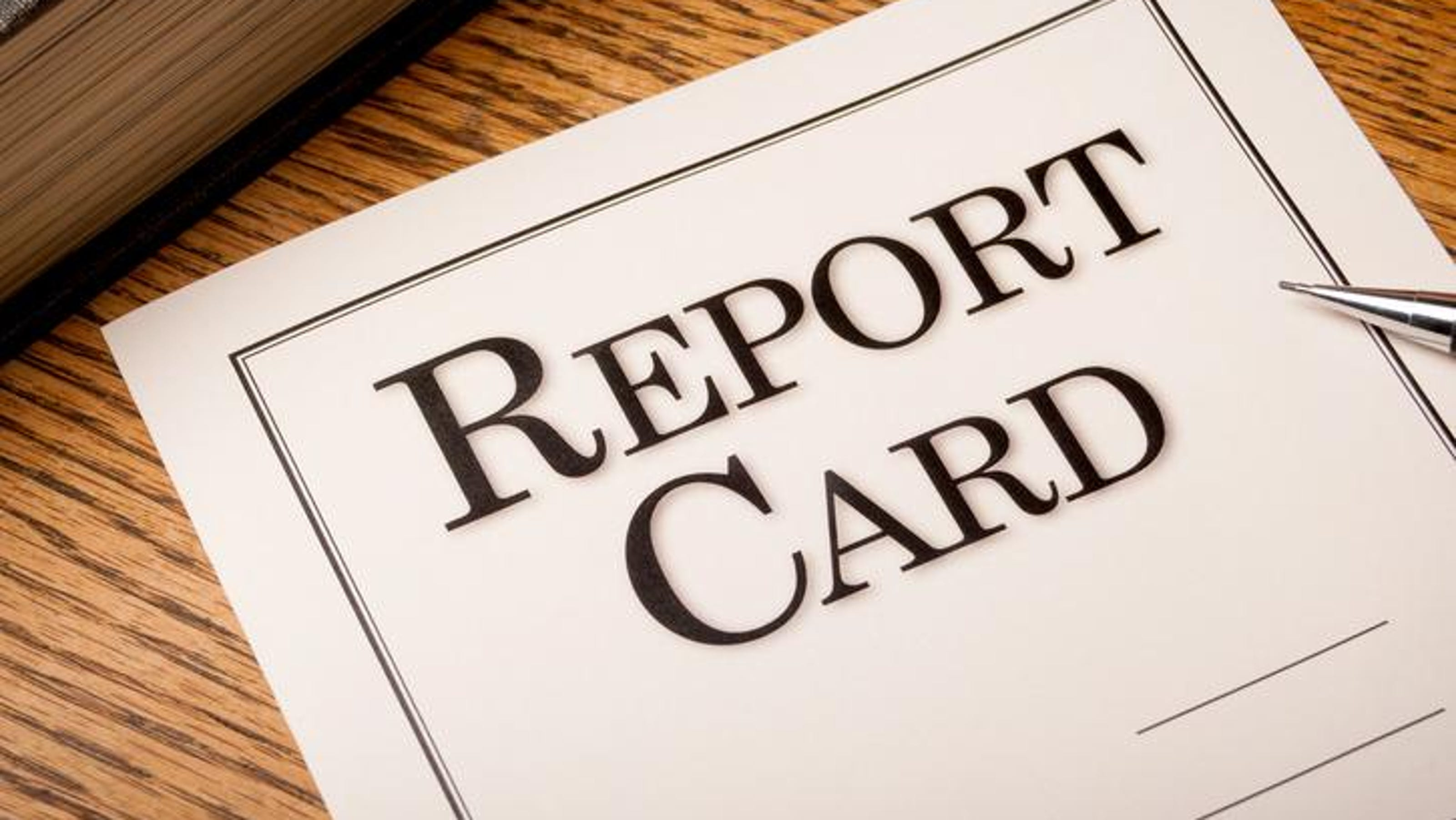 Image result for report card with b's and c's