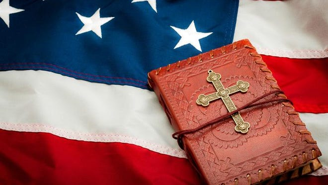 To say that the founding fathers saw America as a Christian nation is misleading. The Constitution they wrote is clear: there must be separation of church and state.