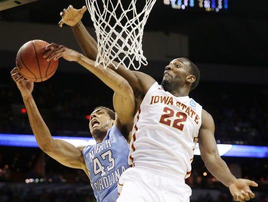 NCAA North Carolina Iowa St Basketball-GD46R6CH4.1