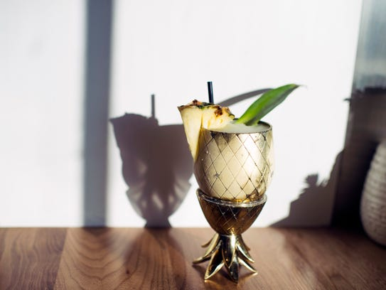 A pineapple cinnamon daiquiri is just one of the innovative