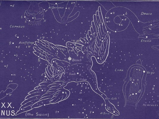 The constellation Cygnus.