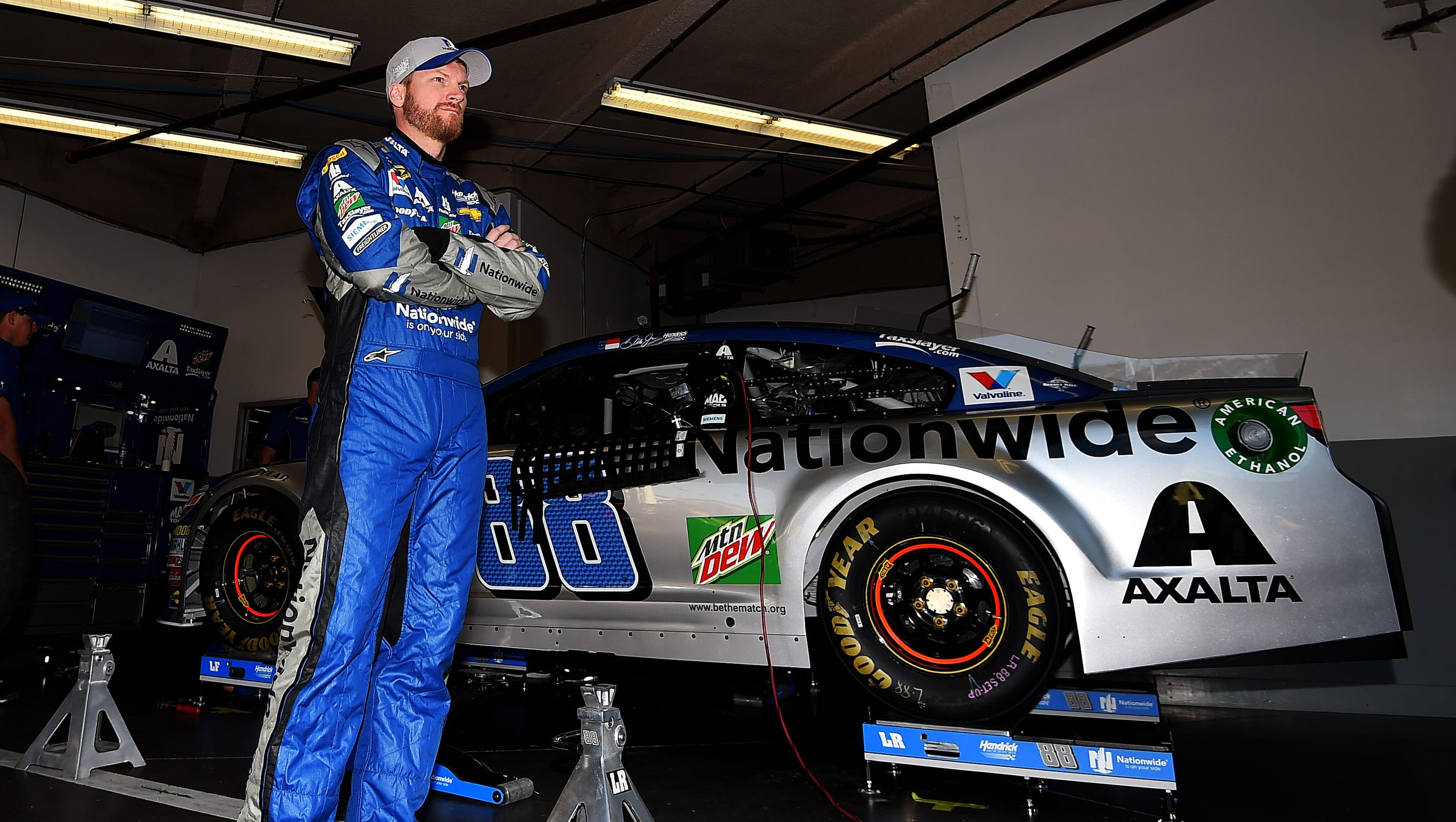 Usa Today Archives Dale Earnhardt Jr Divides Time