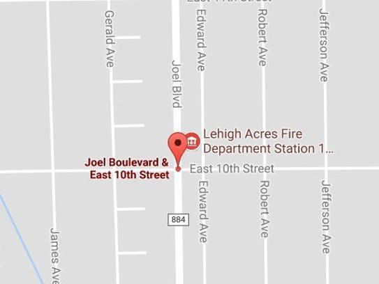 A Lehigh Acres man died following a crash on Tuesday,
