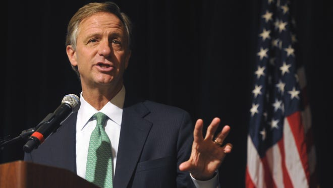 Gov. Bill Haslam.