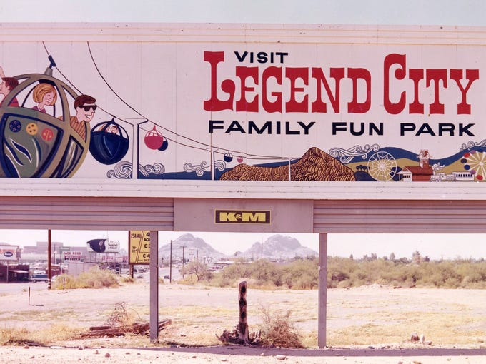 Legend City was a theme park that operated between
