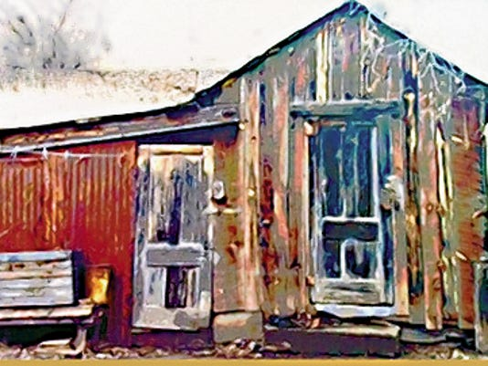 Matilde Holzworth Photo   The Mule Shed in historic Hillsboro, NM.