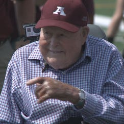 Legendary Augsburg coach Edor Nelson died Wednesday at age 100.
