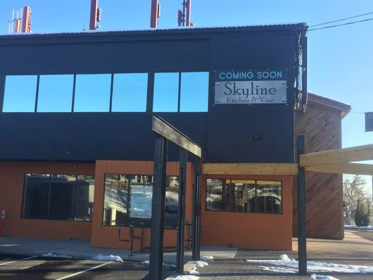 Skyline Kitchen & Vine is going into a former market on Skyline Boulevard, across the street from La Vecchia.