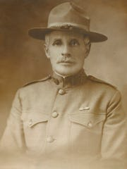 """Nathan Lapowski, pictured in his World War I uniform, was a member of the Lapowski family, originally from Poland, who settled in several area communities. Nathan lived in Colorado City before moving to El Paso. The Lapowski family story and others will be told in a presentation, """"Jews of West Texas,"""" Tuesday at the south branch of the library at the Mall of Abilene. The program is presented by the Abilene Interfaith Council."""