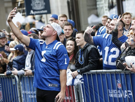 Big surprise (not): Pat McAfee steals the show at NFL ...