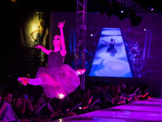 A ballerina introduces Hues of Ego at Phoenix Fashion