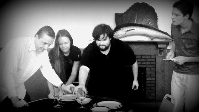 """A scene from Lab Theater's """"An Empty Plate in the Cafe Du Grand Boeuf"""""""