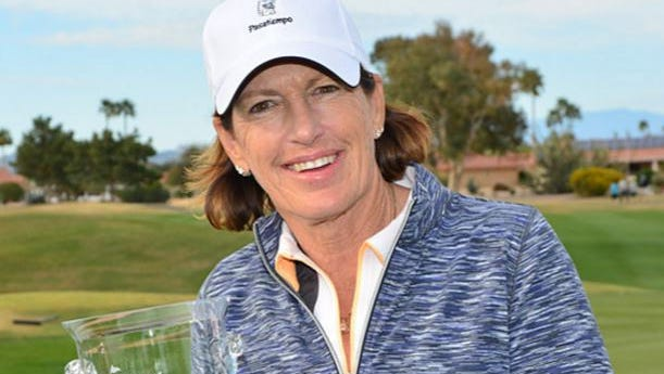 Juli Inkster won the Walgreens Charity Classic in Sun City West in 2017 for the second year in a row.
