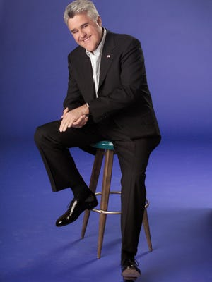 Jay Leno performs tonight, Sept. 19, at West Point's Eisenhower Hall Theatre.