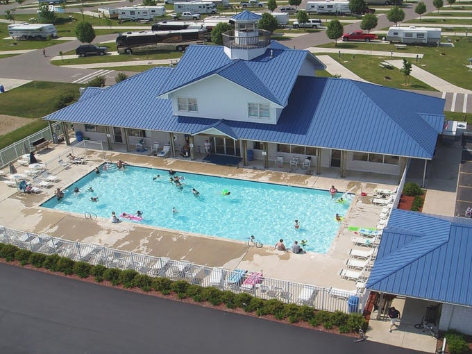 City Visitors Find Campgrounds A Welcome Hotel Alternative