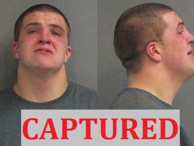 Andrew Marcum was arrested after his picture was posted