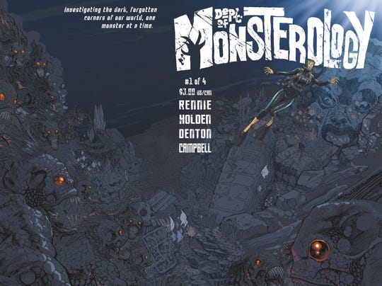 Monsterology cover