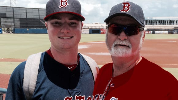 Fletcher's Logan Allen made his professional debut for the Boston Red Sox on Wednesday in Port Charlotte, Fla.