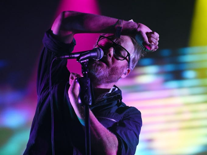 The National performs at the Riverside Theater July