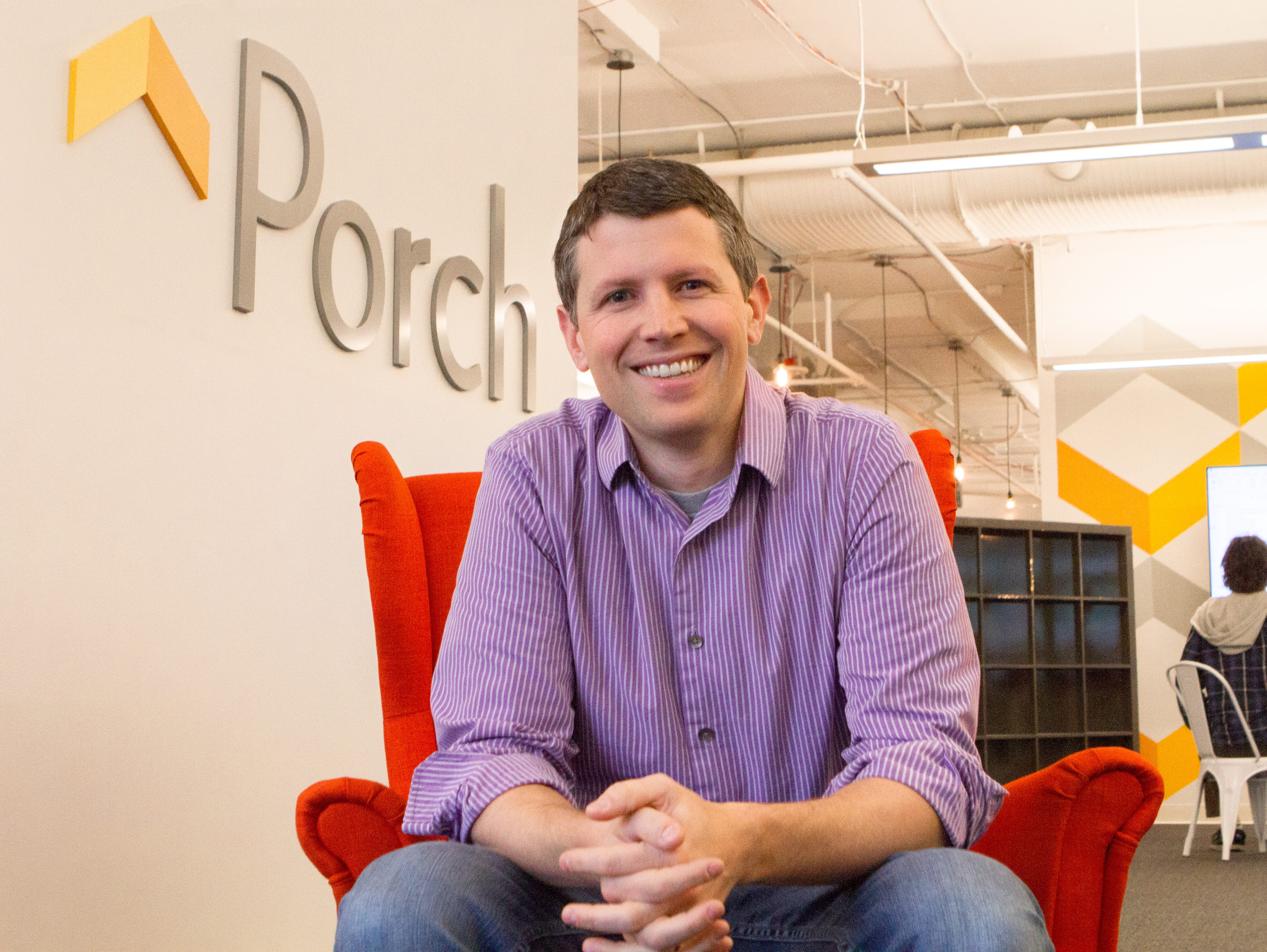 Matt Ehrlichman, 35, is the CEO of Porch.com, a company that links homeowners with contractors.
