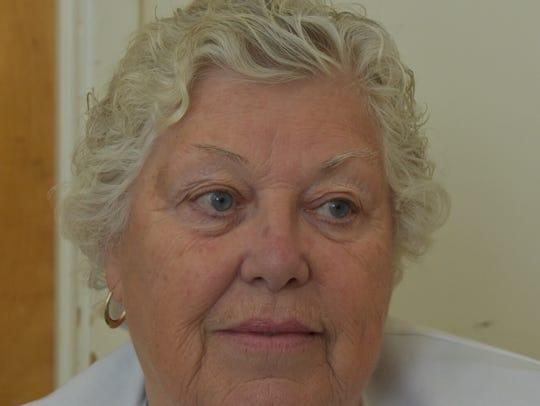 Bettye Berg said managing an American Red Cross shelter