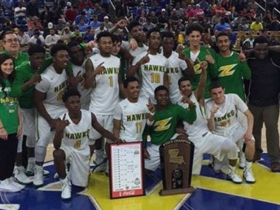 Zwolle won the LHSAA Class B state basketball title on Friday in Lake Charles.