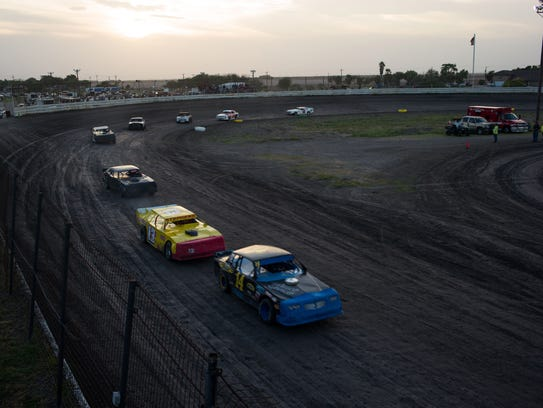 South Texas Speedway, 6701 Old Brownsville Road, will