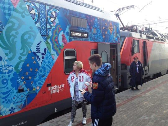 Olympic train